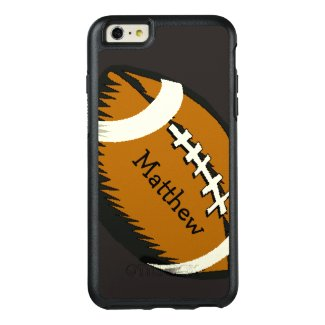 Brown Football Sports OtterBox iPhone 6 Plus Case