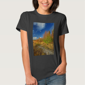 Brown Forest And A Blue Sky Tees