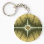 Brown - Fractal Keychain