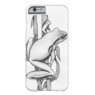 Brown Frog on Grass - Art by Skye Ryan-Evans © Barely There iPhone 6 Case