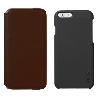 Brown Funda Billetera Para iPhone 6 Watson