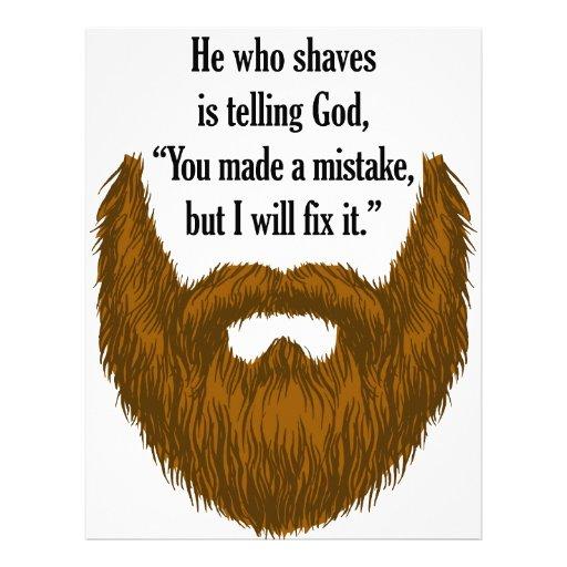 Beard Template | New Calendar Template Site