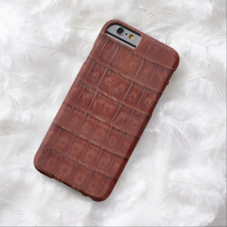 Brown Gator Skin Print #35 Barely There iPhone 6 Case