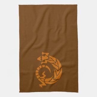 Brown Gecko Southwestern Kitchen Towel