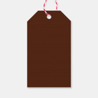 Brown Pack Of Gift Tags