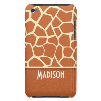 Brown Giraffe Pattern iPod Touch Cover