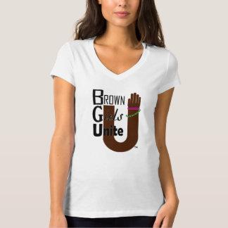 Brown Girls UNITE T Shirt
