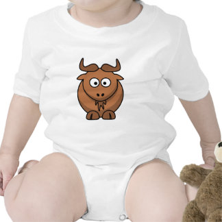 Brown gnu tee shirt