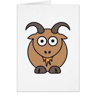 Brown Goat Cards