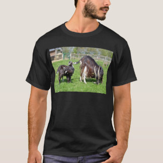 Brown goat with its kids T-Shirt