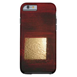 Brown Gold Abstract Expressionist Artwork Tough iPhone 6 Case