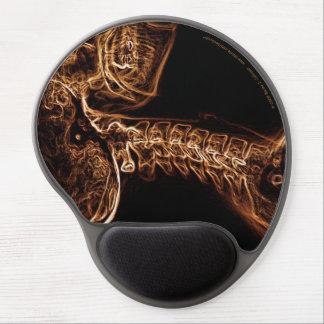 Brown/Gold C-spine Gel Mousepad