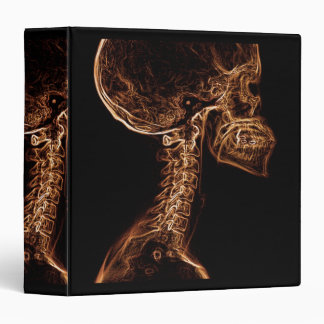 Brown/Gold C-spine X-ray binder