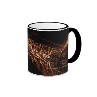 Brown/Gold C-spine X-ray  (no text) mug