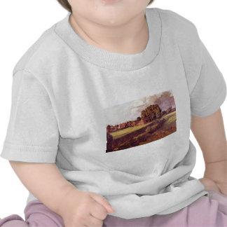 Brown Golding Constable s Flower Garden John Cons T-shirts