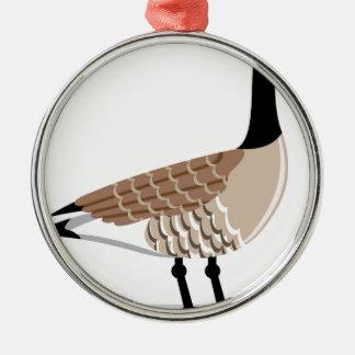 Canada Goose' Metal Ornament