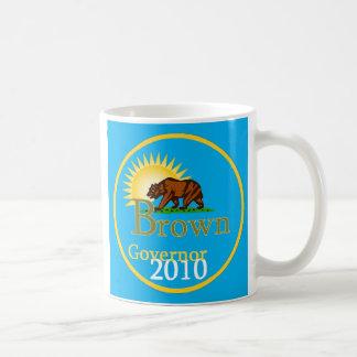 BROWN Governor 2010 Mug