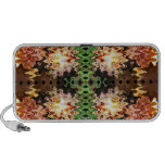 brown  green abstract art iPhone speakers