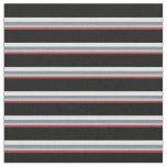 [ Thumbnail: Brown, Grey, Light Slate Gray, Light Cyan & Black Fabric ]