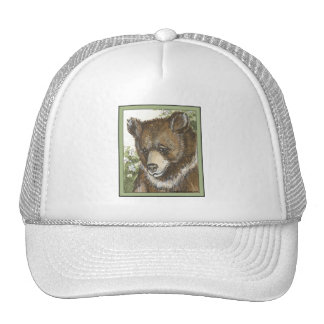 Brown Grizzly Cub Hat