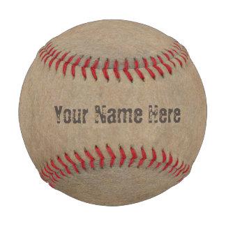 Brown Grunge Baseball