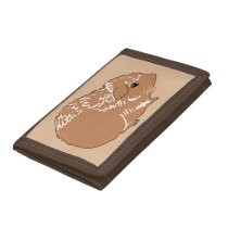 Brown Guinea Pig Brown Wallet