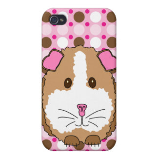 Brown Guinea Pig Case Savvy iPhone 4 Case