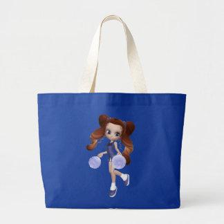 Brown Hair Cheerleader Bag