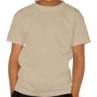 Brown Hair Girl I Love Camping T Shirt