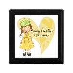 Brown Hair Mommy and Daddy's Princess Gift Box