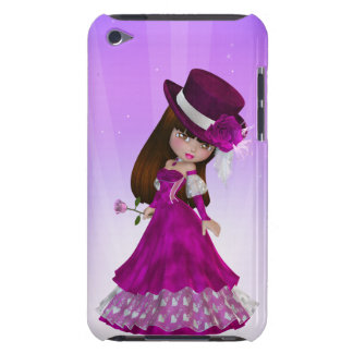 Brown Hair Princess iPod Touch Case