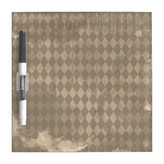 Brown Harlequin Grunge Dry-Erase Boards