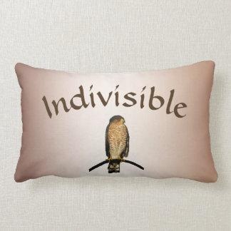 Brown Hawk Indivisible Lumbar Pillow