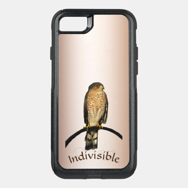 Brown Hawk Indivisible OtterBox iPhone 7 Case