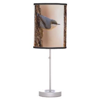 Brown-headed Nuthatch Table Lamp