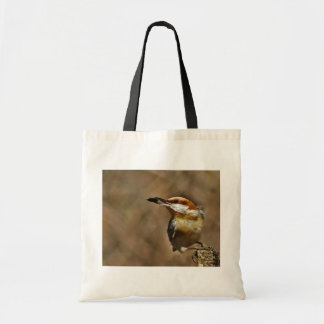 Brown-headed Nuthatch tote Budget Tote Bag