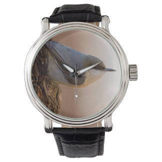 Brown-headed Nuthatch Wristwatches