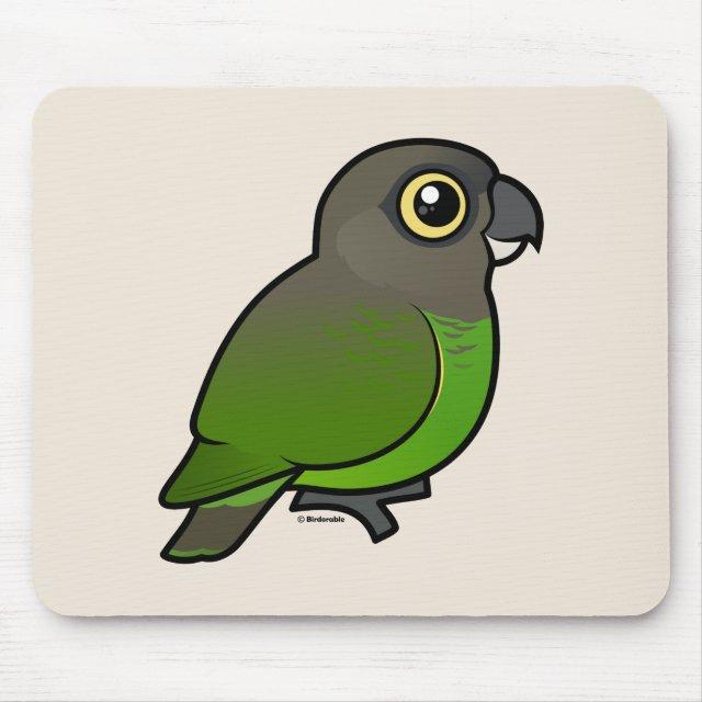 Birdorable Brown-headed Parrot Mousepad