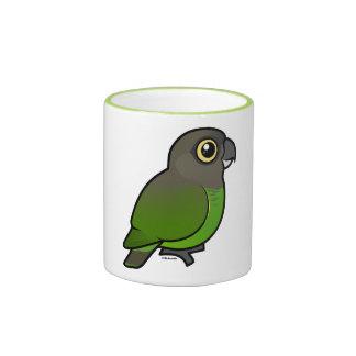 Brown-headed Parrot Mugs