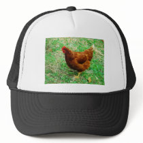 Brown Hen Trucker Hat