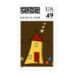 Brown Home Sweet Home Postage