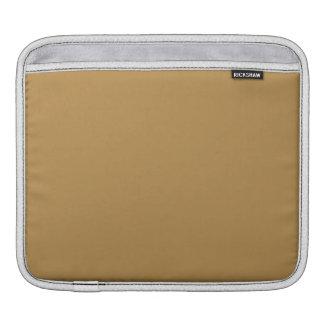 Brown Honey Solid Color iPad Sleeve