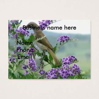 Brown Honeyeater #1 Business Card