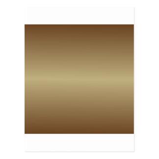 Brown horizontal 4 - Ecru y pendiente de la nariz Tarjeta Postal