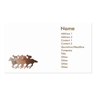 Brown Horse - Business Double-Sided Standard Business Cards (Pack Of 100)