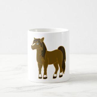 Brown Horse Coffee Mug
