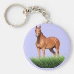 Brown Horse designs Key Chain