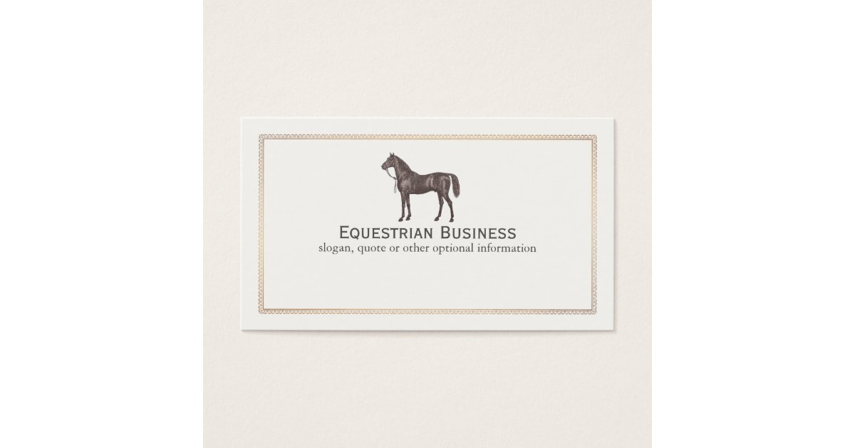 Zazzle Horse Business Cards Images - Card Design And Card Template