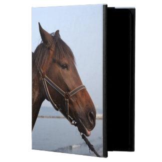 Brown horse head iPad air case