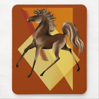 *Brown Horse Mouse Pad